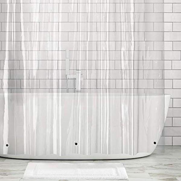 guage vinyl shower curtain liner