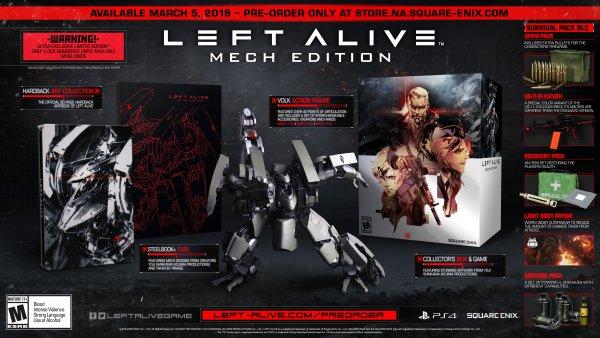 Объявлена дата релиза Left Alive для западного рынка
