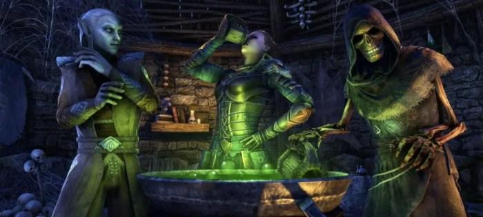"""В The Elder Scrolls Online пройдет новый """"Праздник ведьм"""""""