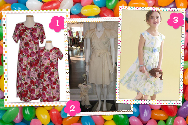 Cute Mother Daughter Easter Dresses