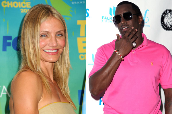 Cameron Diaz and P Diddy reportedly dating