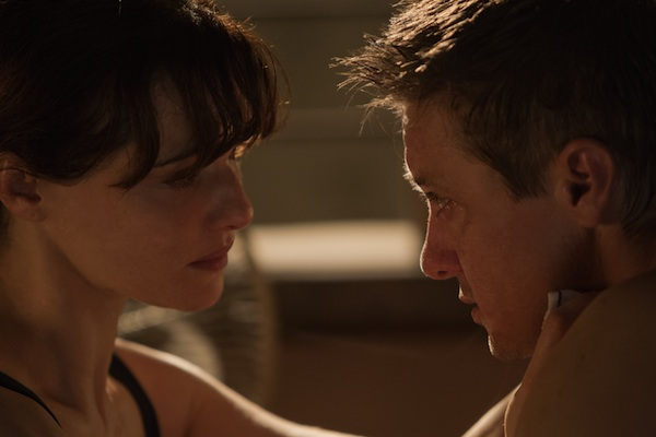Jeremy Renner and Rachel Weisz The Bourne Legacy