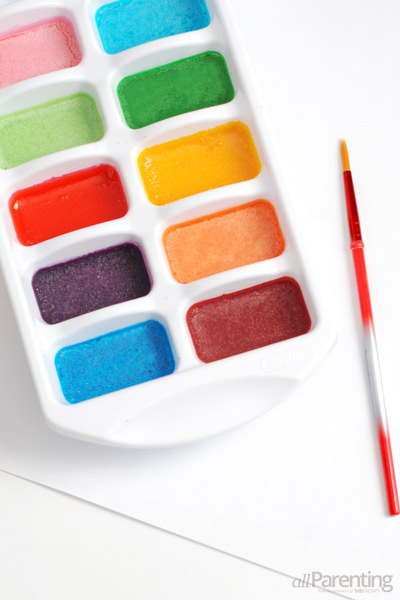 allParenting homemade water colors