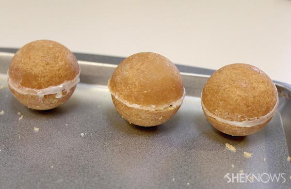 Candy-γεμάτο μπισκότα maraca