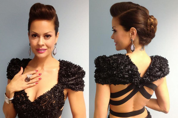 Brooke Burke's Dancing With the Stars hairstyle