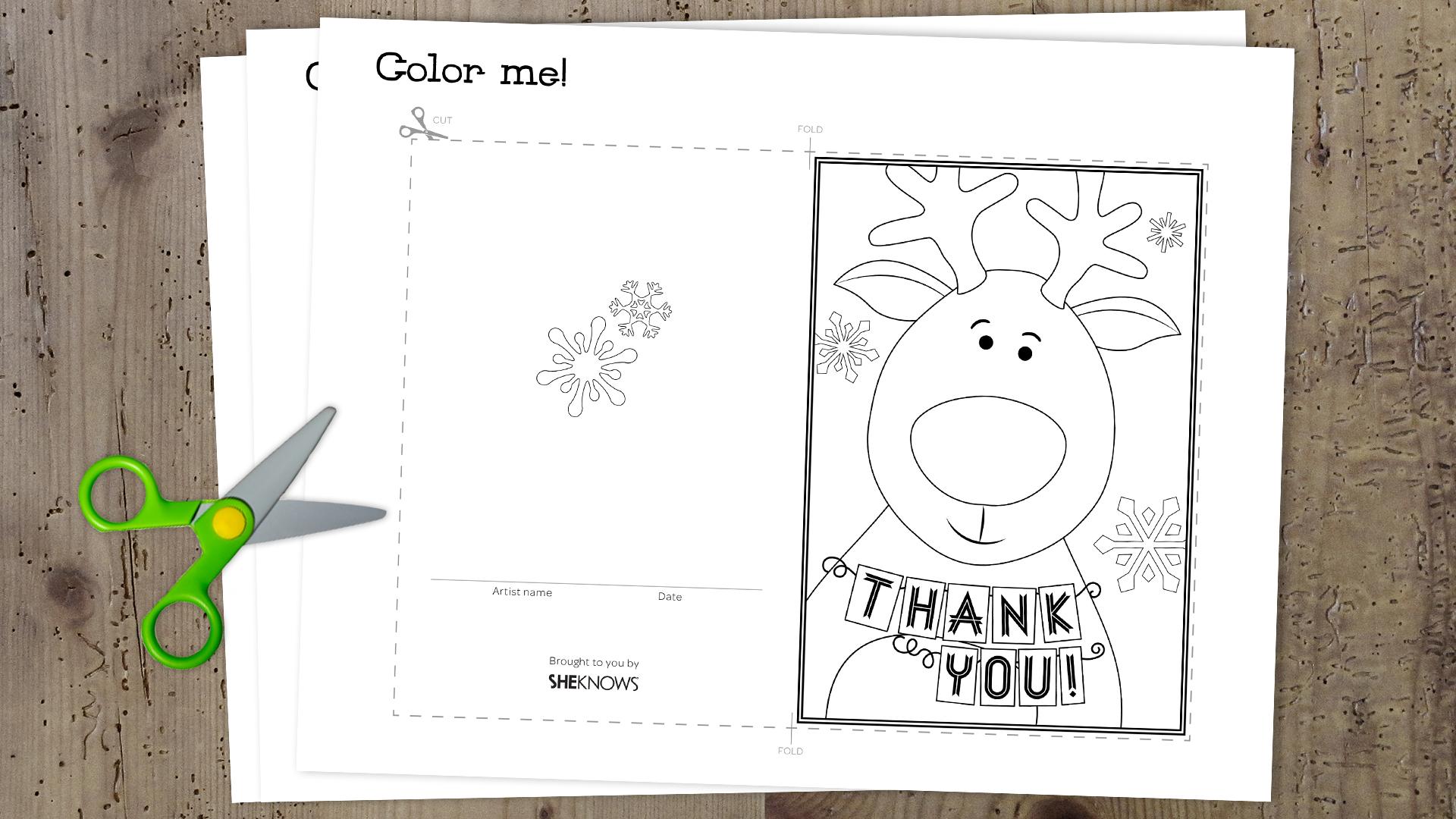 christmas thank you printable new calendar template site