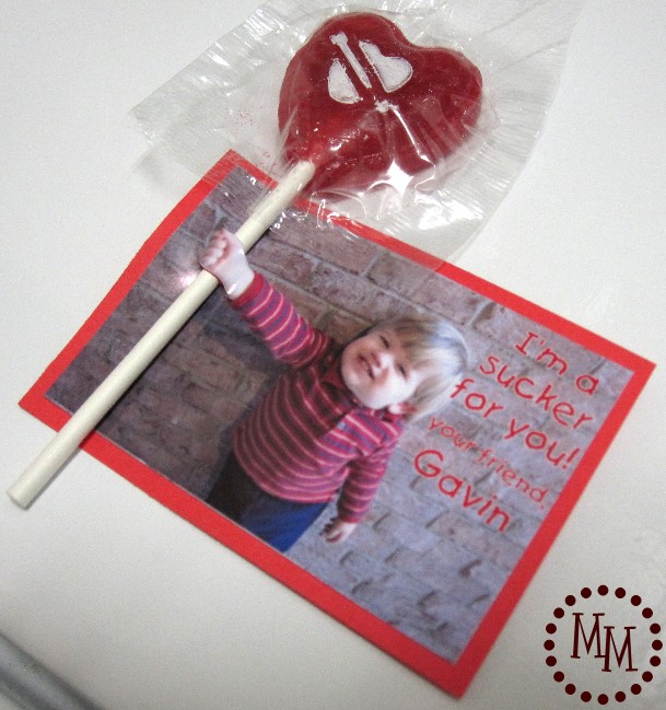 3D Valentine's Day card for teachers and the class