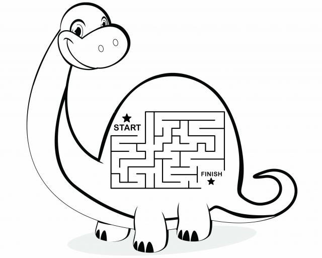 free coloring pages of easy mazes