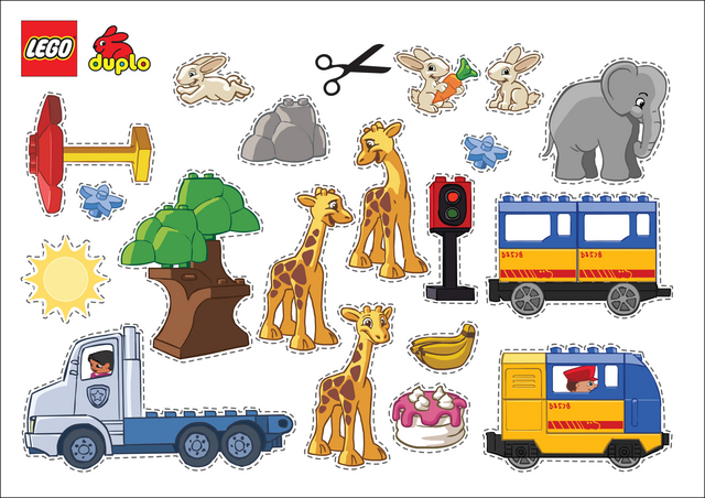Lego Cut Outs Free Printable Coloring Pages