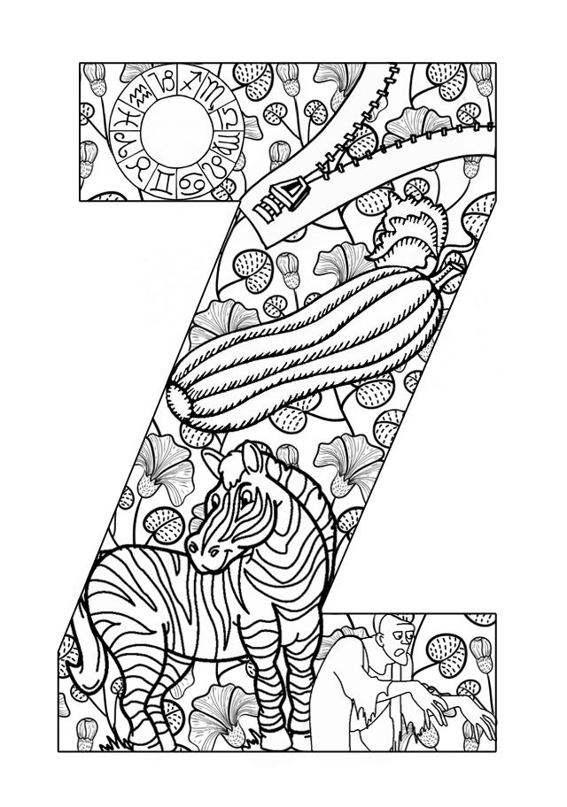 letters letters activities z