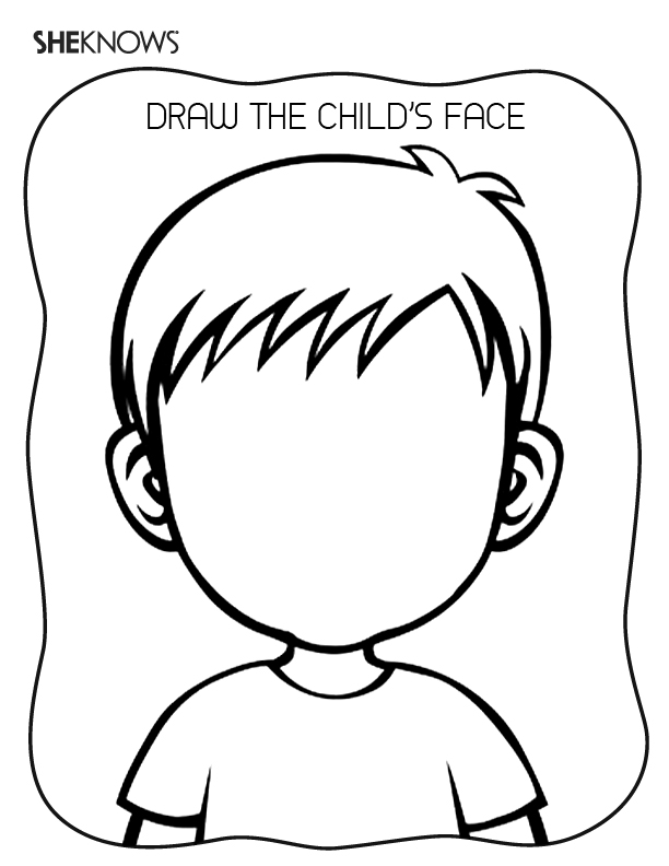 blank face coloring page pages blank face cartoons gt others free printable blank face