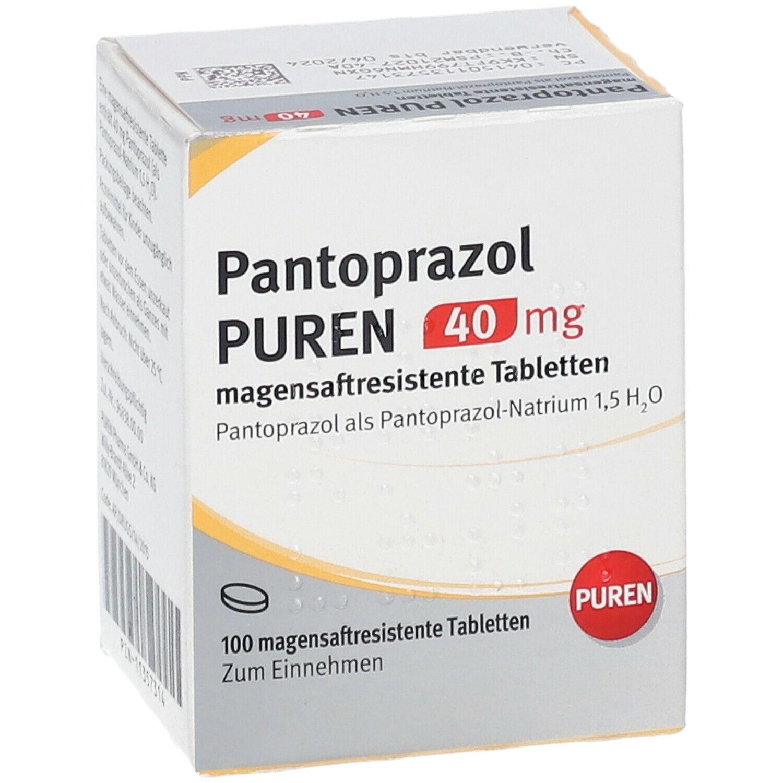 pantoprazol puren 40 mg 100 st shop