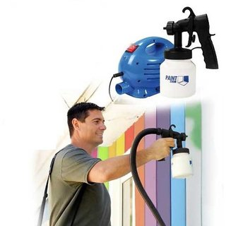 Buy IBS Paint zoom Spray Gun Ultimate Portable Home Elite     IBS Paint zoom Spray Gun Ultimate Portable Home Elite Profesional Painting  Machine Platinum PTZM783 Airless sprayer