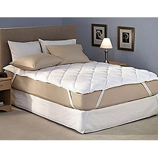 Waterproof Mattress Protector Single Bed Size 36x78 White