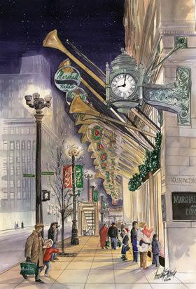 Marshall Fields McCarthy Fine Arts