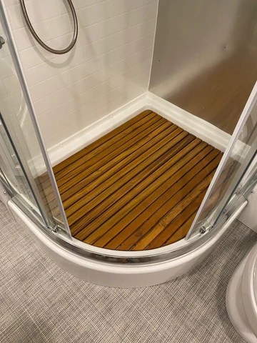 teak shower mats airstream life store