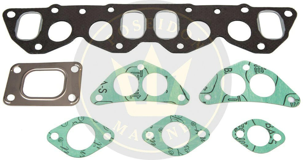 exhaust manifold gasket kit for volvo penta md22a md22l a inc 859785 859834 22152