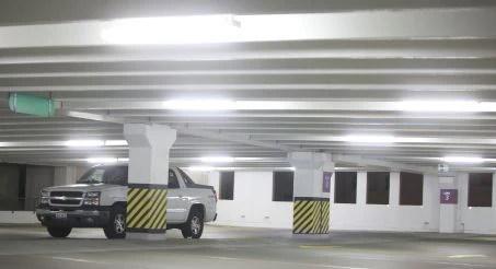 led parking garage lighting led garage lights earthled com