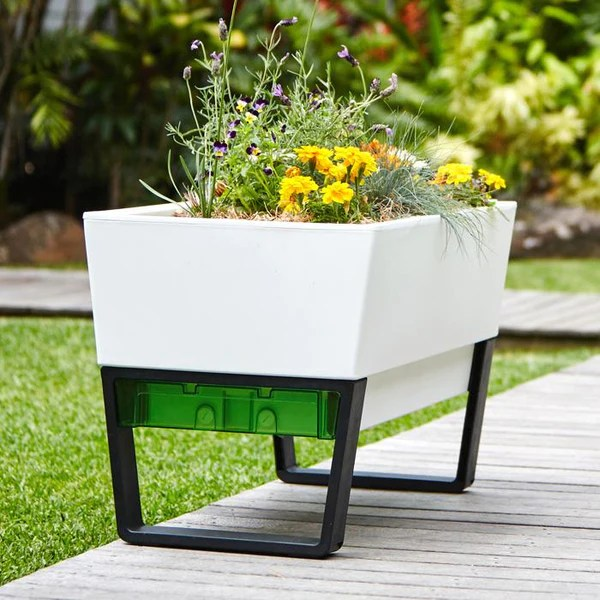 urban garden planter box modern planters for a stylish garden design glowpearinternational