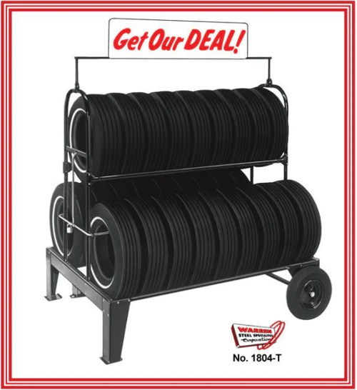 Tire Rack distribution center in New Castle Delaware is located at 300 Anchor Mill Road New Castle DE 19720. Three Tier Tire Rack Stationary Advantage Lifts
