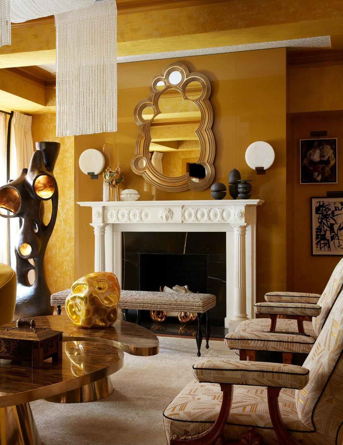 Best Yellow Living Room Ideas Yellow Decoration Luxdeco