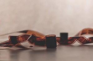 imagem de rolo de filme cinematográfico