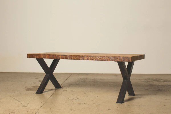 coffee table with steel