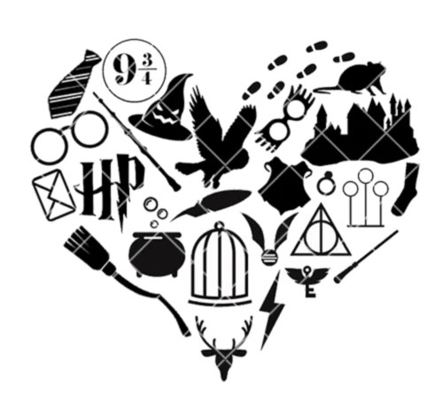 Download Wizarding Icon Heart SVG/PNG/EPS/JPG File - Snarky Crafter ...