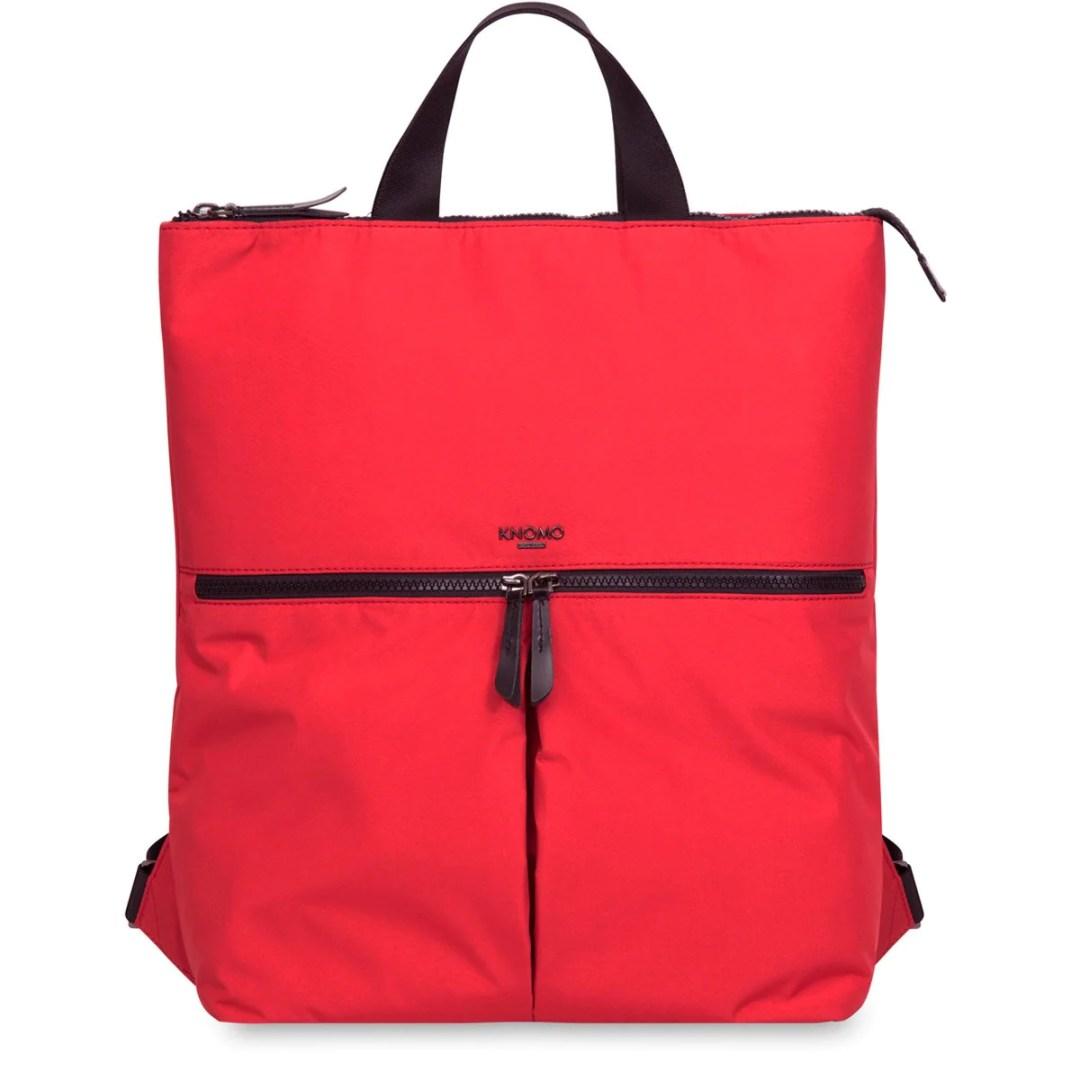 e9e0793b72fa7f KNOMO Red Reykjavik Laptop Tote Backpack – 15″ KNOMO® – Knomo – $74.25