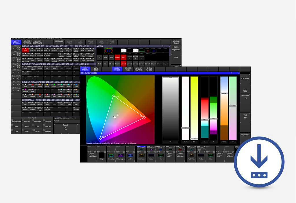 chamsys lighting control software and