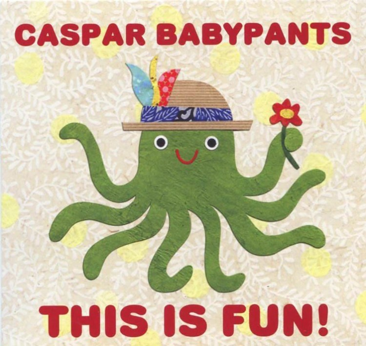 Caspar Babypants CD, This Is Fun! – Kate Endle