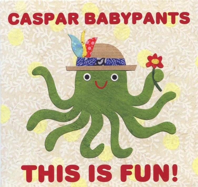 Caspar Babypants CD, This Is Fun! – Kate Endle