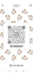 Instagram QR Code Embrodered Patch - Get Found Wear You Instagram #Instagram