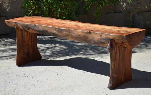 Rustic Log Benches Sale