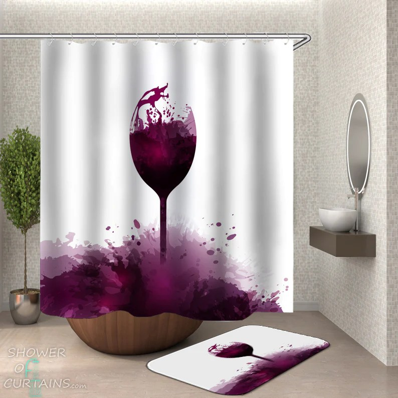 wine colored shower curtain off 63 online shopping site for fashion lifestyle