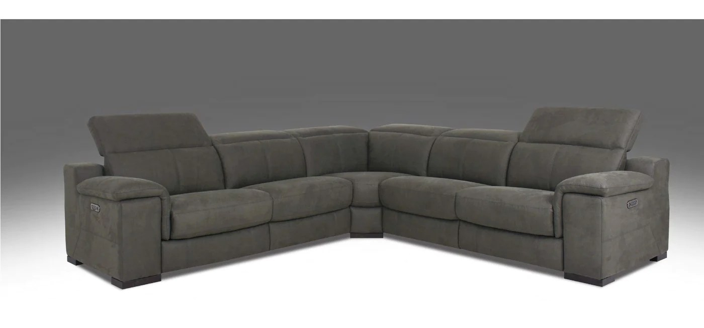 htl fabric 5 piece power reclining sectional w power headrest rs 11468 pr currently on furniture showroom floor