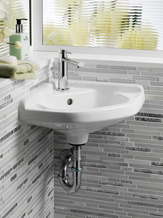 corner wall hung basin barclay products limited