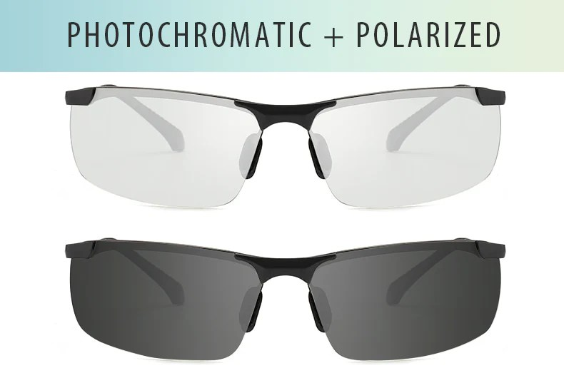 Photochromic Transition Sunglasses front view