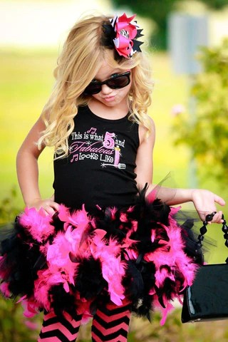 Personalized Custom Girls Birthday Outfits Tutu Spoiled Nj Boutique