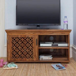 Driftingwood Sheesham Wood Wooden Tv Cabinet Furniture Stand Tv Unit Driftingwood