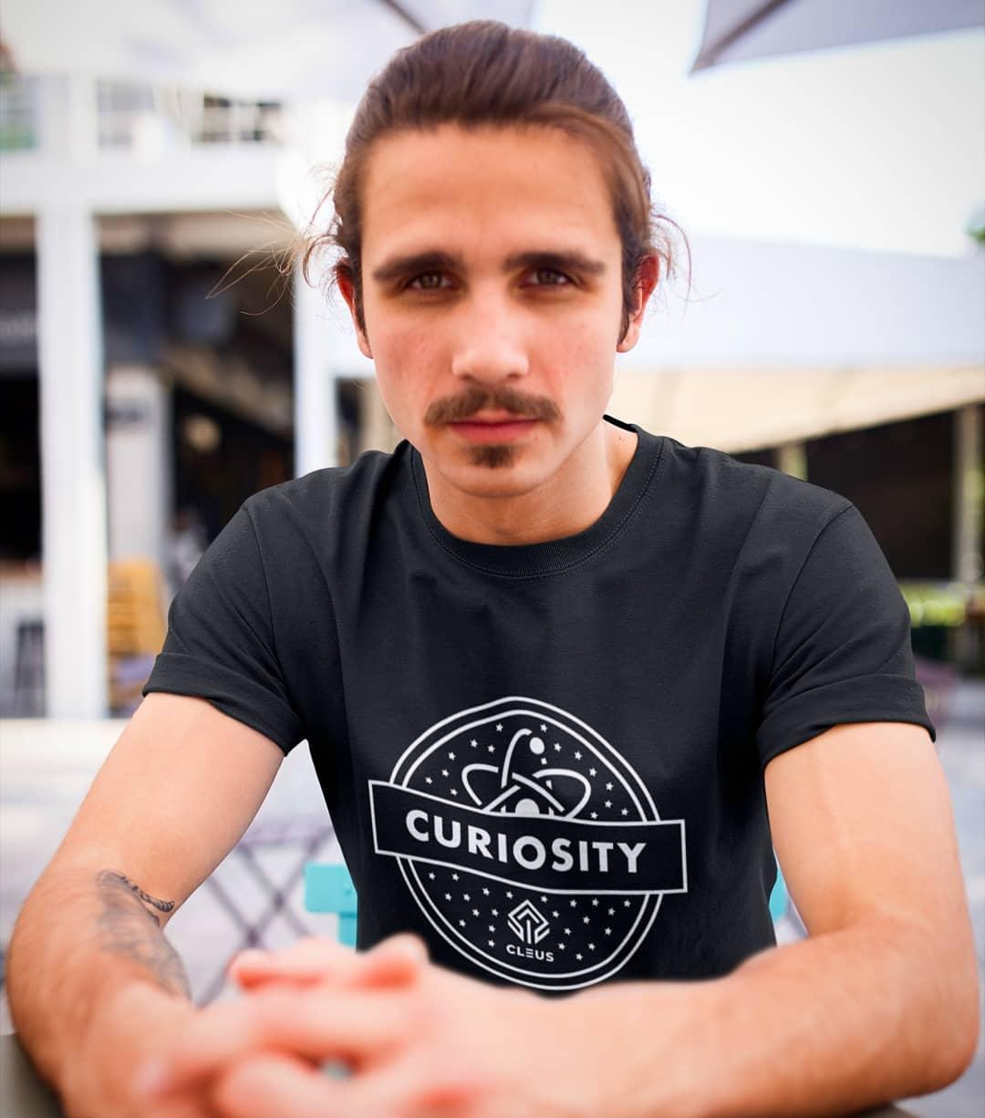 curiosity geek t-shirt