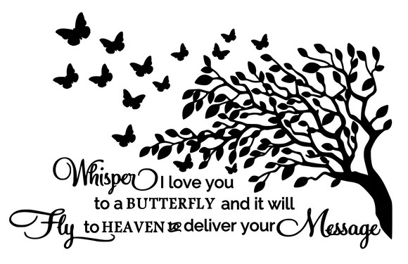 Download Memorial   Whisper I love you to a butterfly - Claire B's ...