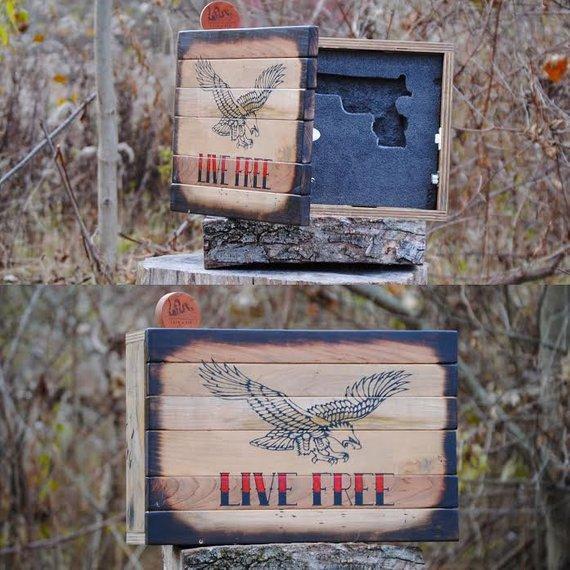 gun gun concealment hidden gun cabinet hiddden gun storage gun rack gun case gun safe american flag wood flag gift for him gun cabinet flag