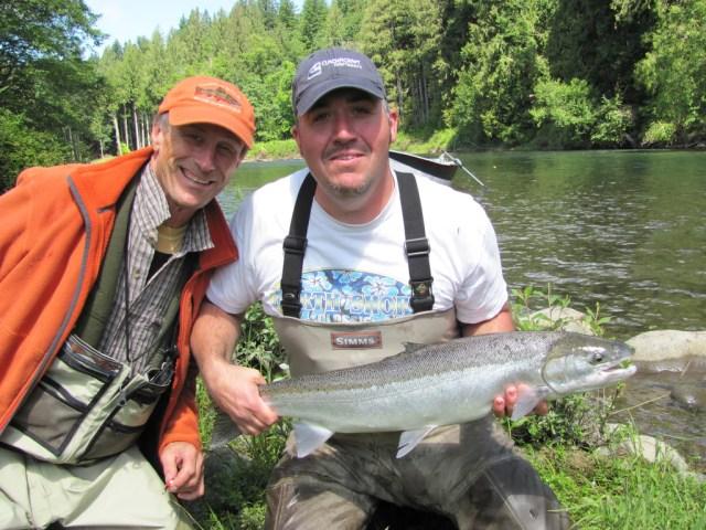 steelhead fishing jake gregg clackacraft