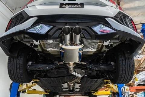 catback exhaust for 2017 honda civic hatchback sport fk7