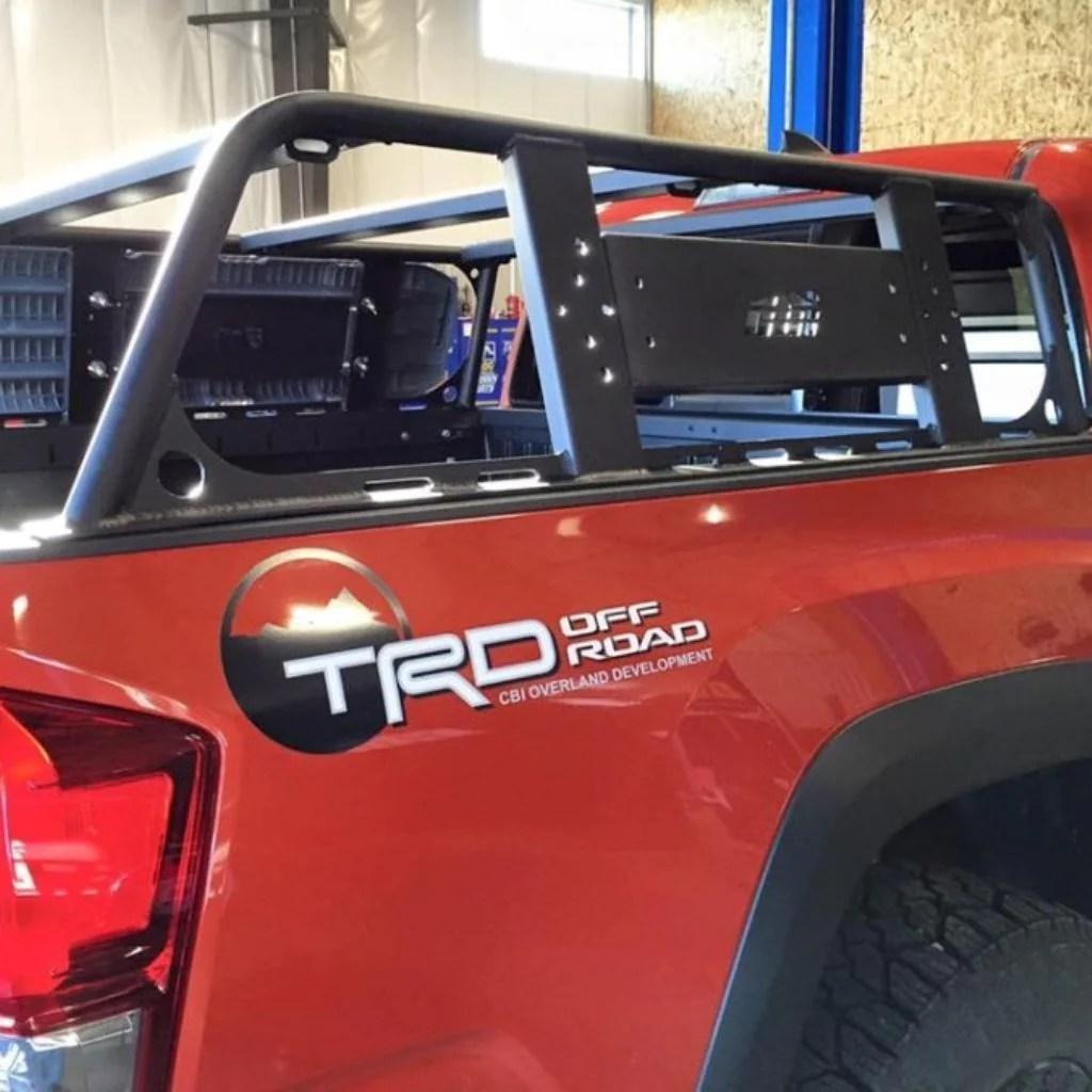cbi offroad bed rack toyota tacoma 2016 2020