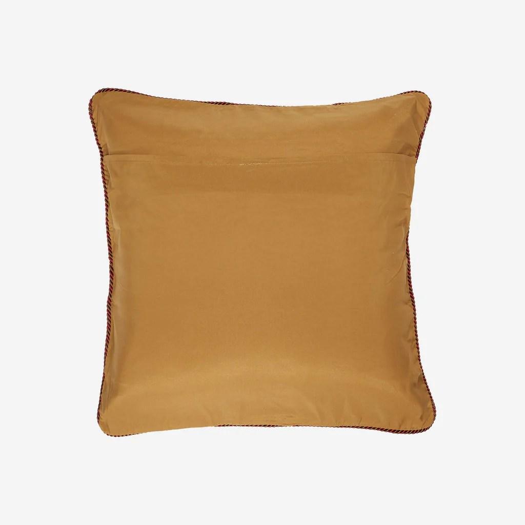 croscill galleria red european pillow