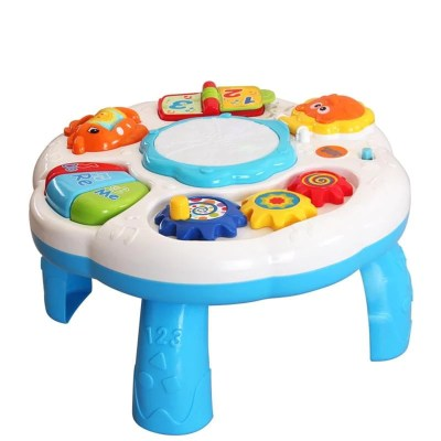 Baby Kids Musical Table Pre Kindergarten Early Educational Toy Development Activity Centers Music Learing Table for Toddlers - OurKids.Shop