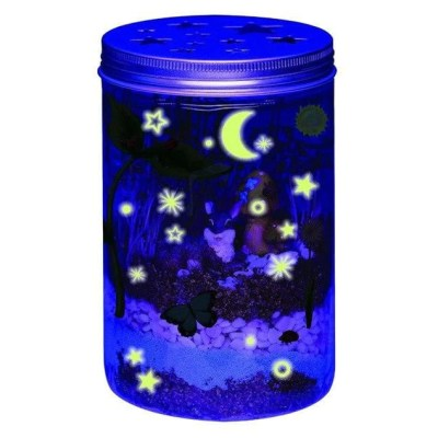 Creative Luminous children 's toys Creativity Terrarium shine crystal bottles grow up plant toys Magic crystal bottle T82