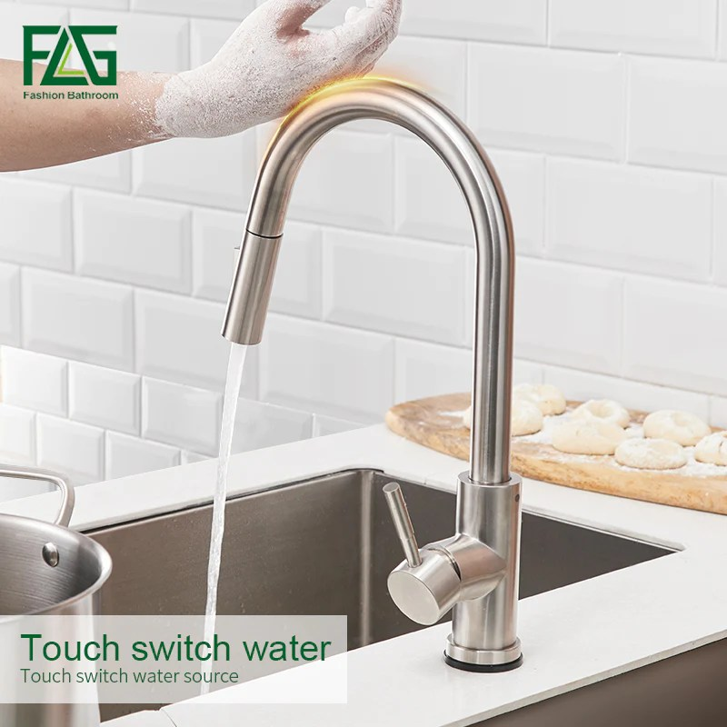 kitchen faucets smart sensor ki